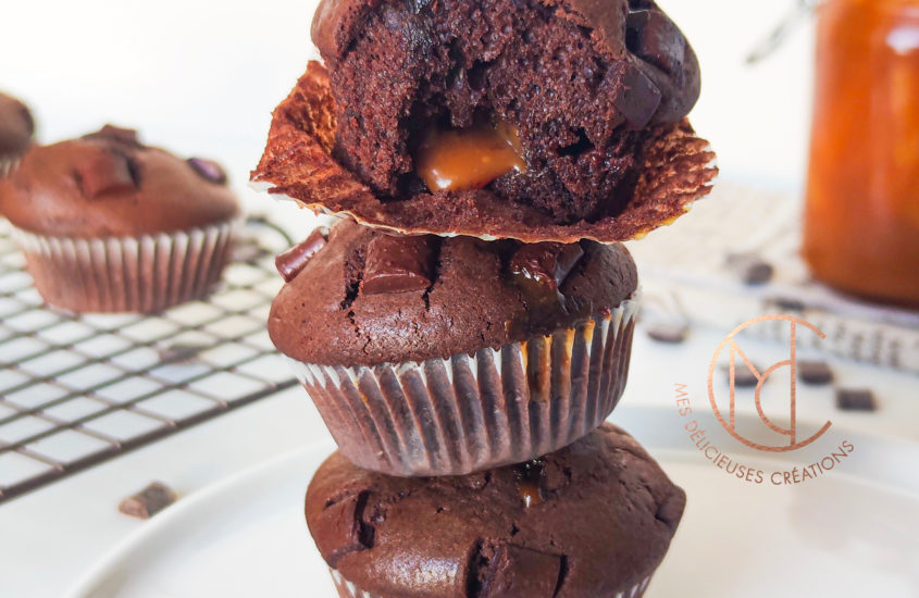 mini cake chocolat au coeur coulant