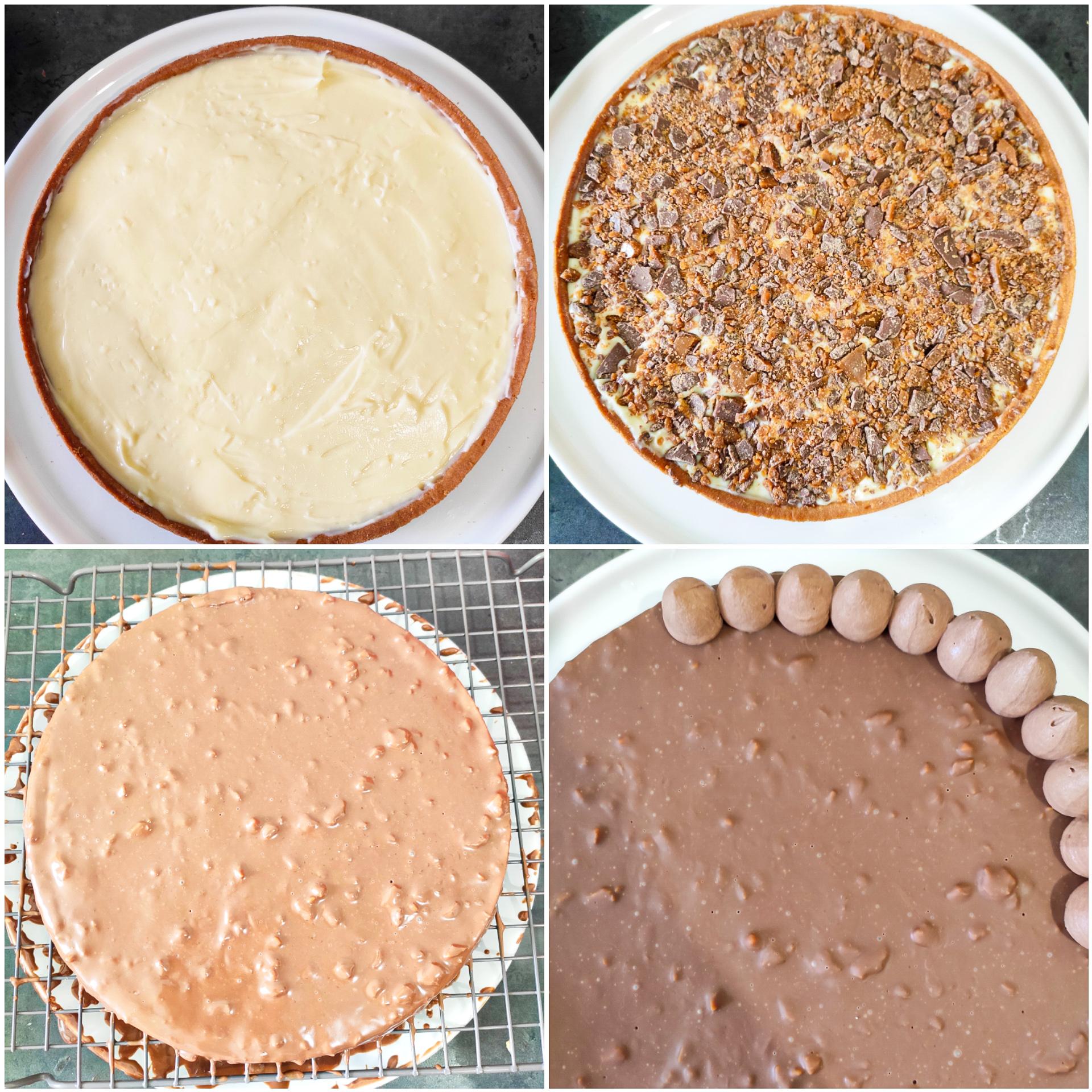 montage tarte daim