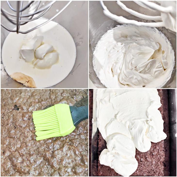 préparation mousse de lait