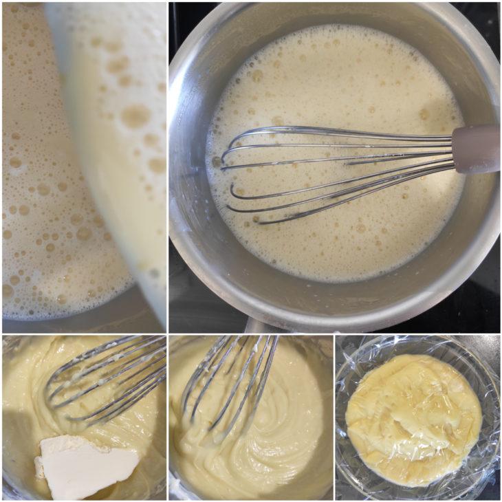 crème pâtissière cuisson