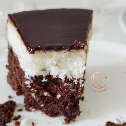 dégustation gâteau choco-coco