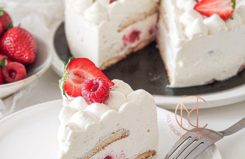 Nuage fraise framboises