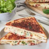 croque omelette au fromage