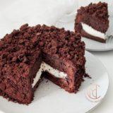 cake chocolat cœur vanille