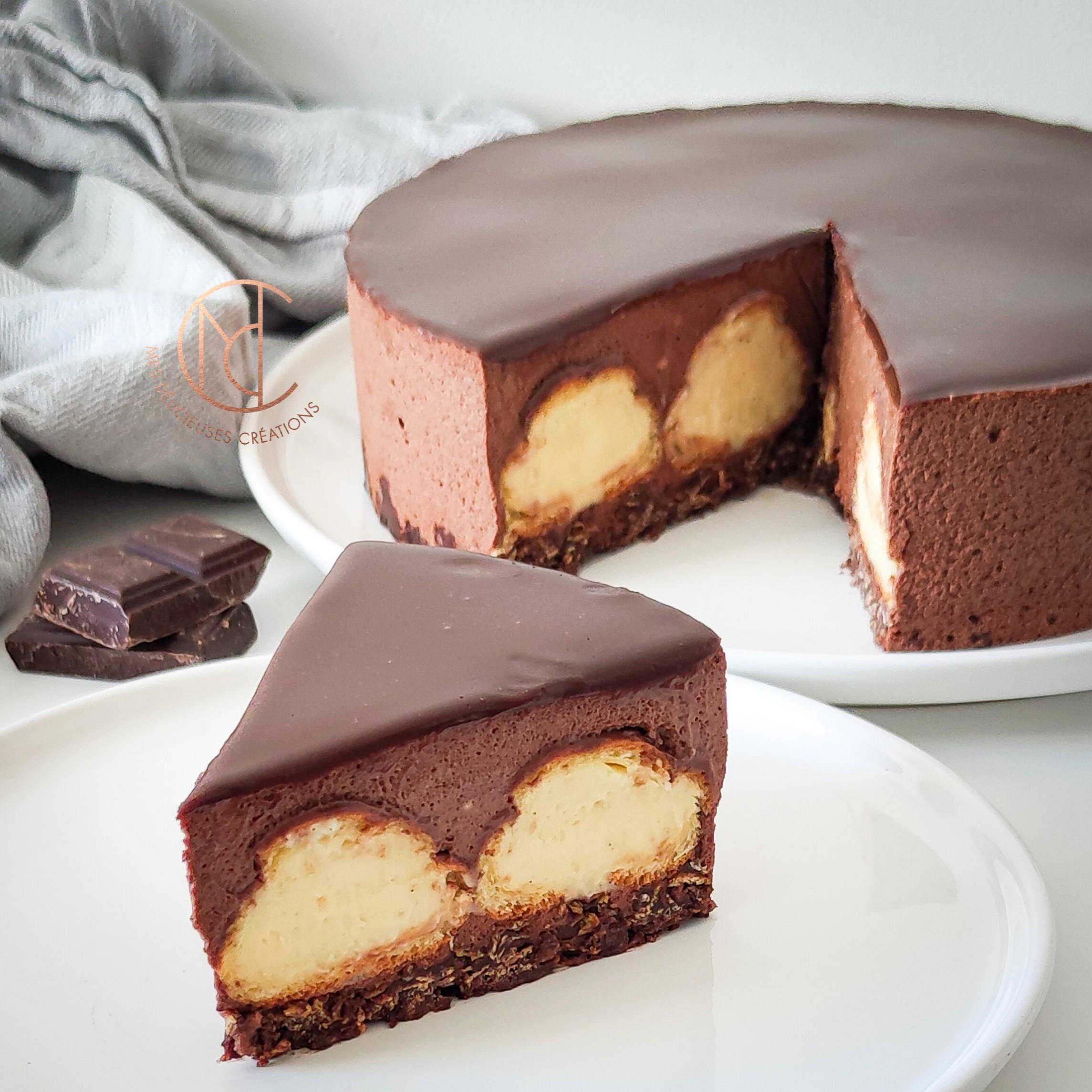 découpe gâteau profiterole
