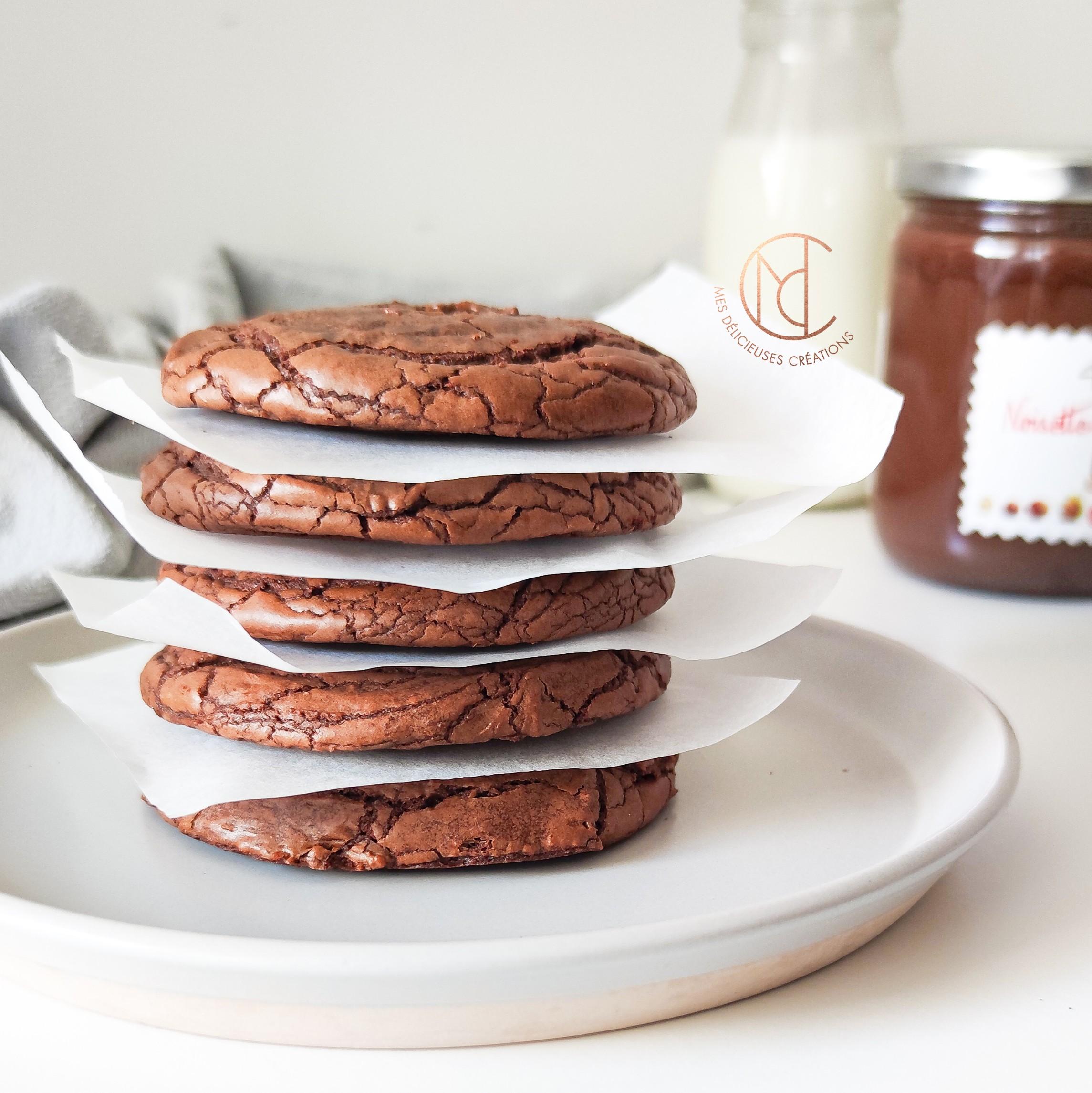cookies brownies coeur coulant