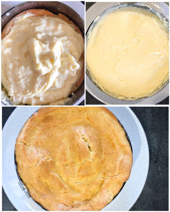 montage gâteau cœur de crème