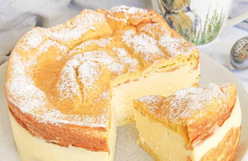 Gâteau coeur de crème