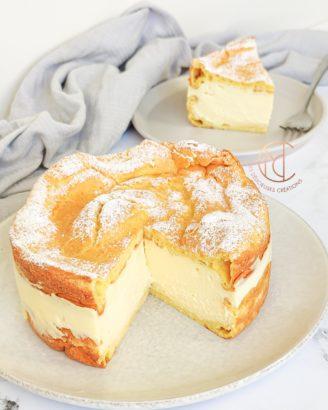 dégustation gâteau cœur de crème