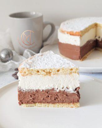 dégustation gâteau coeur crème chocolat