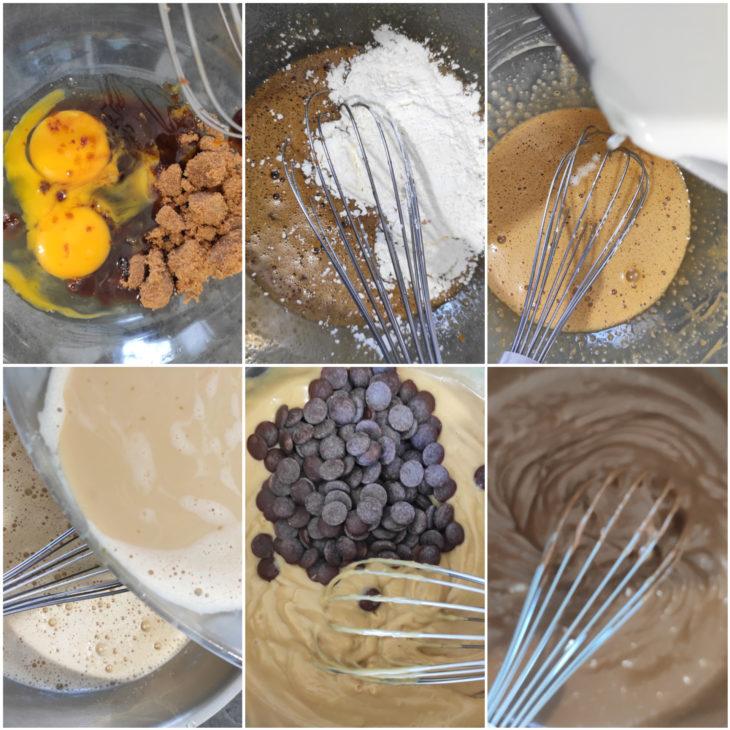 réalisation crémeux chocolat