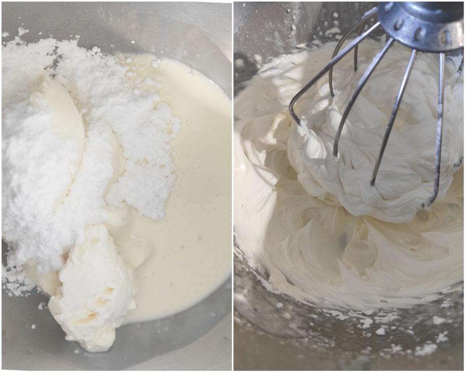 réalisation crème cheese