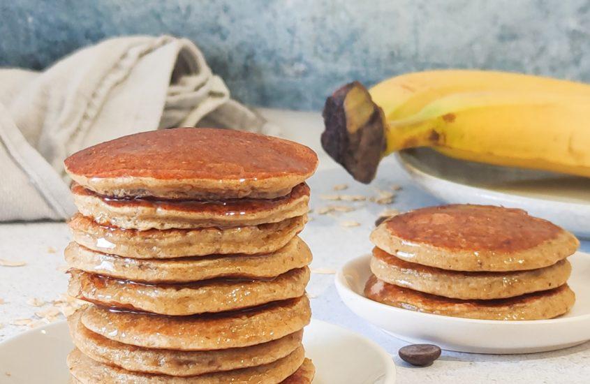 Pancake banane avoine