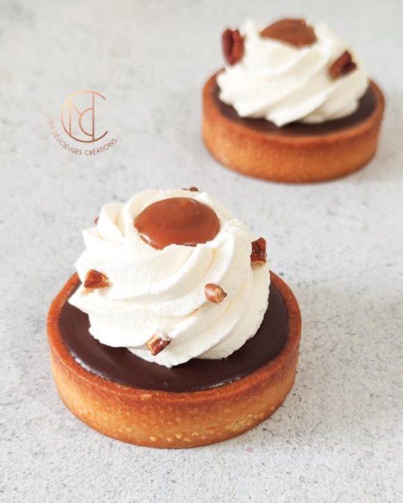 tartelette chocolat caramel pécan