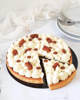 tarte vanille noix de pécan Mes Délicieuses Créations
