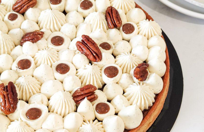 Tarte vanille noix de pécan