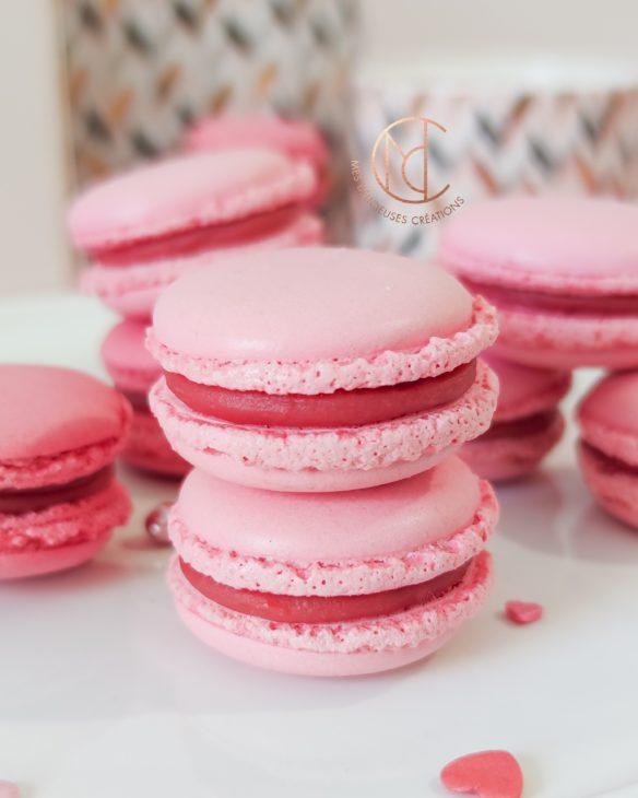 dégustation macarons inspiration fraise