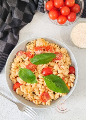 fusilli fromage tomate