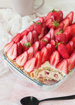 dégustation tiramisu fraise