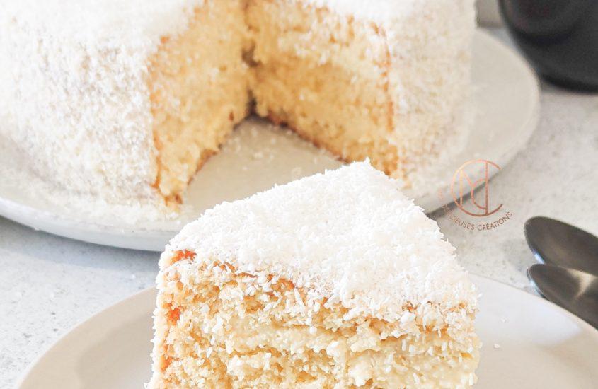 Gâteau façon montblanc antillais