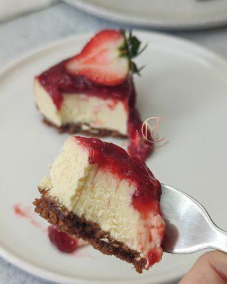 degustation-cheesecake-new-yorkais-fraise
